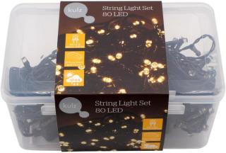KULZ LYSSLYNGE 80 LED, VARM HVIT