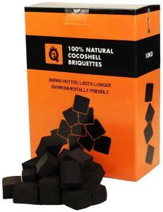 ProQ® - Cocoshell Briketter 10 kg (Tilsvarer 20 kg kvalitetskull/ restaurant/ grill)
