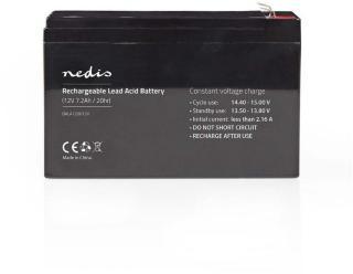 Oppladbart Blysyrebatteri 12 V   7200 mAh   151 x 65 x 95 mm