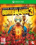 Borderlands 3 Super Deluxe Ed. Xbox One Pre-order og få Gold Weapons Skin Pack