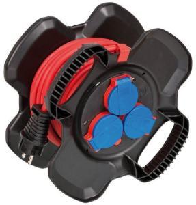 BRENNENSTUHL X-Gum Rubber Cable Reel IP44 10m H07RN-F 3G1.5 - skjøteledningstrommel (1169710100)