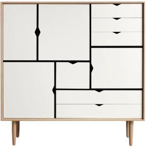 Andersen Furniture S3 Naturoljet Eik / Hvit
