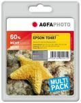 AGFAPHOTO 6-pack - svart, gul, cyan, magenta, lys magenta, lys cyan - blekkpatron (alternativ for: Epson T0481, Epson T0482, Epson T0483, Epson T0484, Epson T0485, Epson T0486, Epson T0487, Epson C1..