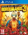 Borderlands 3 Super Deluxe Ed. PS4 Pre-order og få Gold Weapons Skin Pack