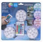 Grundig LED RGB Spotlight med fjern