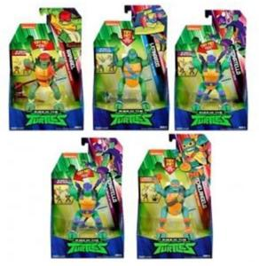 TEENAGE MUTANT NINJA TURTLES Deluxe Ninja Attack figures ass 46-81400