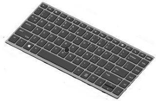 HP erstatningstastatur for bærbar PC - Fransk (L14378-051)
