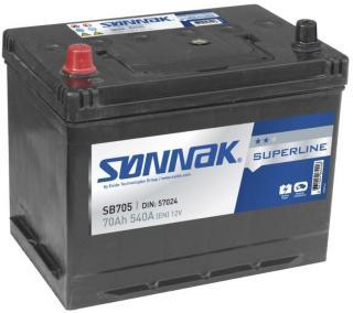 Sønnak Bilbatteri Superline SB705