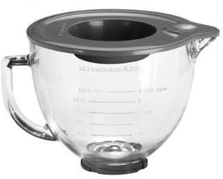 KitchenAid Artisan glass-skål til kjøkkenmaskin klar 4,8 liter