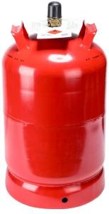 Propanfylling uten flaske stål 11 kg