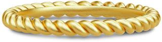 Julie Sandlau Twisted Ring 52 - Gold Ring Smykker Gull Julie Sandlau Women