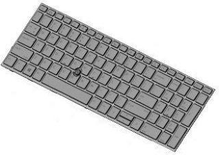 HP erstatningstastatur for bærbar PC - Italiensk (L28407-061)