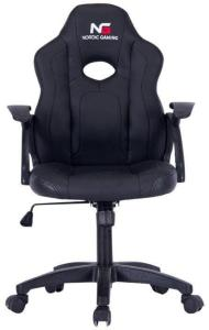 DCS Nordic Gaming Little Warrior Gaming Chair Black (WN2563-BK)