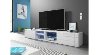 Tv-bord best - 200 cm hvit