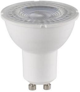 Spotlight LED Pære 6,7W 2700K 540lm GU10 Hvit Dimbar Nordlux