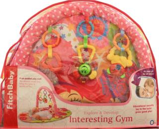 Fitch Baby babygym rosa