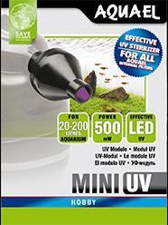 Aquael UV lampa Mini UV LED