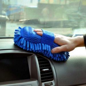 Vaskeklut i mikrofiber til bilen