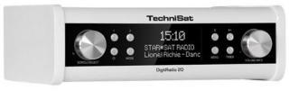 TechniSat Klokkeradio DigitRadio 20 Under cabinet DAB + and FM kitchen radio - DAB/DAB+/FM - Mono - Hvit 0001/4987