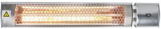Terrassevarmer infrarød med fjernkontroll 1500W