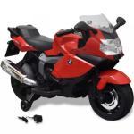 Rå BMW 283 El-motorsykkel for Barn 6 V - Rød