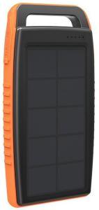 RAVPower RP-PB003 Solcelle Powerbank 15000mAh - Svart / Oransje