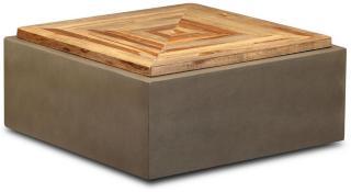 Colderiro Sofabord 70x70 cm - Treak/Betong