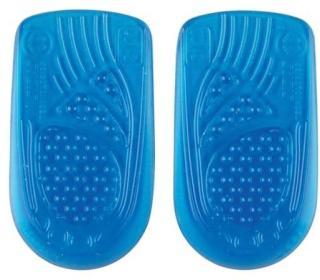 Sidas Gel Heel Pads, Blue, L/XL
