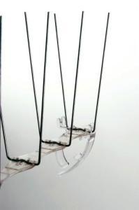 Clips til montering av duesikring på takrenne - 10 stk