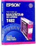 Epson Blekkpatron magenta 110ml T482 Tilsvarer: N/A Epson