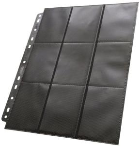 Plastlomme 18-Pocket SideLoad Svart  x50 Ultimate Guard - Passer Double Sleeve