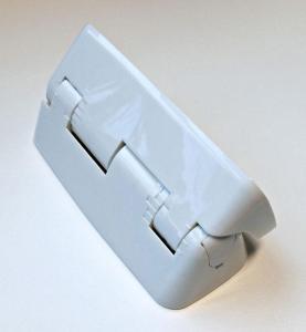 Hvit veggbrakett for komfyrvakt sensor