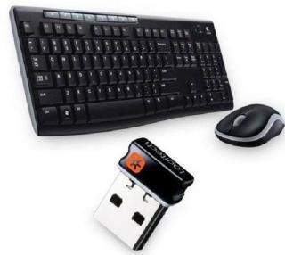 Trådløs mus og tastatur MK270