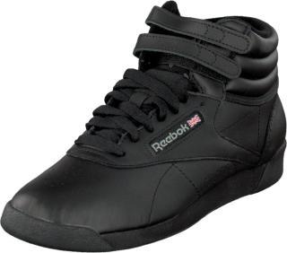 Reebok Classic F/ S Hi Black, Sko, Sneakers og Treningssko, Høye Sneakers, Svart, Dame, 41