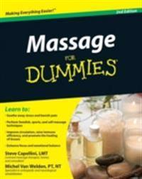 Massage For Dummies WILEY