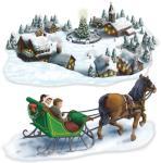 Beistle Julesledetur, utskjæring - Jul