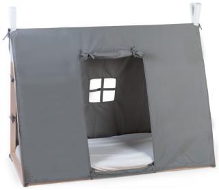 CHILDHOME Tipitrekk til seng 70x140 cm grå