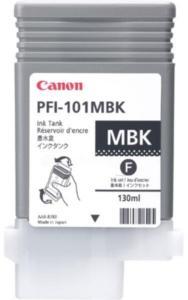Canon PFI-101 MBK Blekkpatron matt svart 0882B001 Tilsvarer: N/A Canon