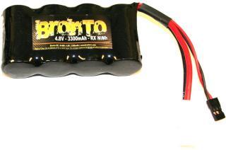 Bronto 4,8V 3300mAh - Bronto RX Pack - Ni-Mh