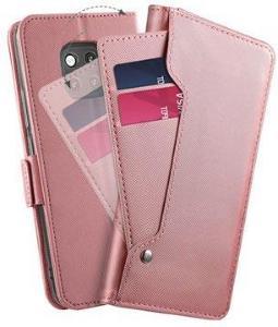 Huawei Mate 20 Pro Lommebok-deksel med Kortholder - Rosa
