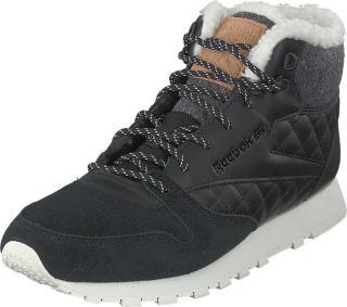 Reebok Classic Cl Lthr Arctic Boot Black/chalk/camel/pin, Sko, Sneakers og Treningssko, Høye Sneakers, Grå, Svart, Dame, 41