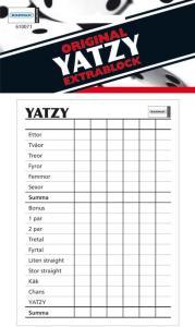 Spill Yatzy-blokk 610071 (Kan sendes i brev)