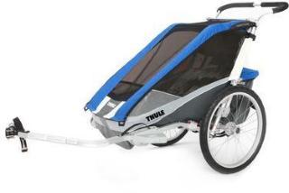 THULE Barnesykkeltrailer Chariot Cougar 1 Blue