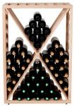 Moldow Wineracks Moldow - DIAMOND - 70 flasker Eik (normalt på lager)