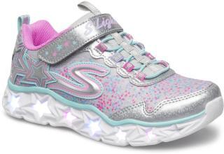 Skechers Girls Galaxy Light Sneakers Sko Rosa Skechers