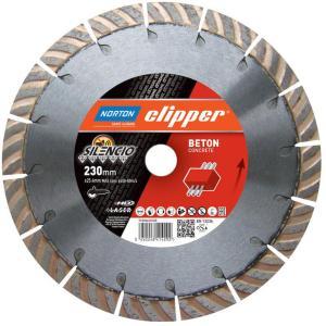 NORTON CLIPPER Diamantblad betong silencio 230x22,2