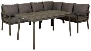 Samona sofagruppe grå 5 deler