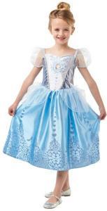 Disney Princess Askungen Klänning Maskeraddräkt Barn Inget (Storm)