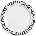 Design Letters Design Letters Melamine Plate, Tallerken