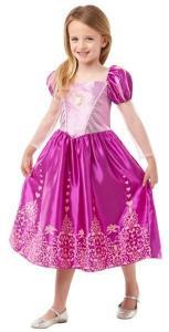 Disney Princess Rapunzel Klänning Maskeraddräkt Barn Inget (Storm)